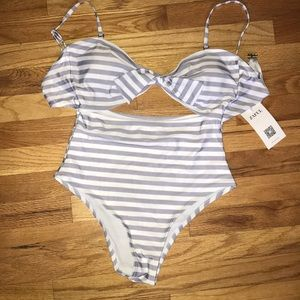 NWT zaful cut out one piece.